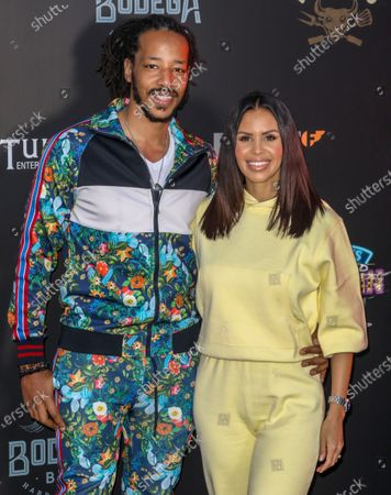 Tony Sinclair and Shanie Ryan attend the Press Night for the Tulleys Farm Haunted Drive-In Cinema.