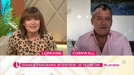 Lorraine Kelly and Paul Burrell