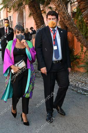 Maria Isabel Diaz Lago with Giuseppe Alessio Nuzzo
