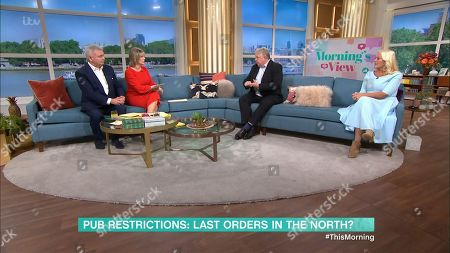 Editorial photo of 'This Morning' TV Show, London, UK - 09 Oct 2020