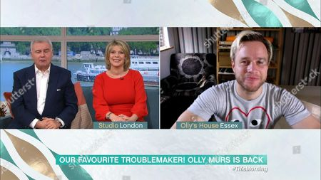 Stock Photo of Eamonn Holmes, Ruth Langsford and Olly Murs