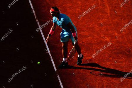 Rafael Nadal during his Men's Singles semi-final match