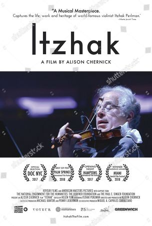Editorial photo of 'Itzhak' Documentary - 2017