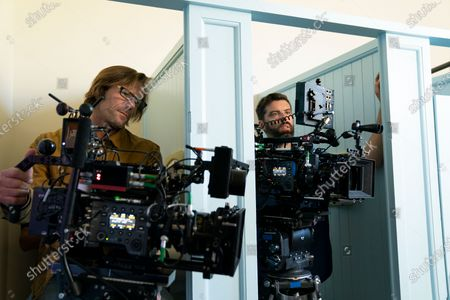 Stock Picture of Gary L. Camp and Shawn Sundby Camera Operators