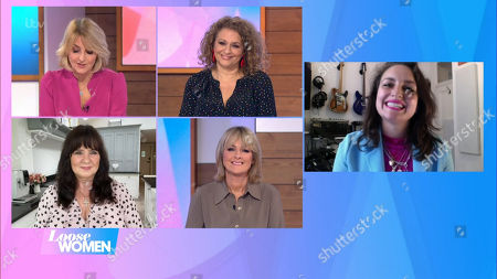 Kaye Adams, Nadia Sawalha, Coleen Nolan, Jane Moore and Laura Dockrill