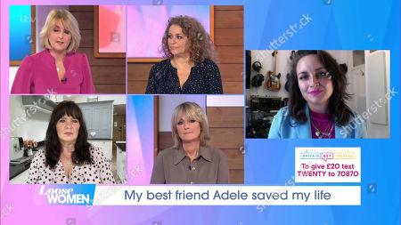 Editorial image of 'Loose Women' TV Show, London, UK - 09 Oct 2020