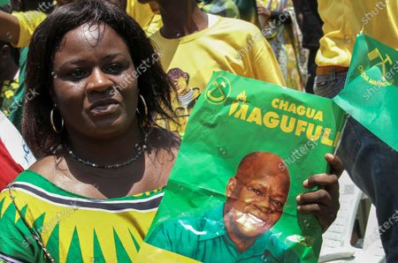 Editorial picture of Chama Cha Mapinduzi ruling party presidential election rally, Dar Es Salaam, Tanzania - 19 Mar 2020