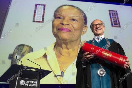 Editorial image of Geneva University Dies Academicus, Geneva Geneve Genf, Switzerland - 09 Oct 2020