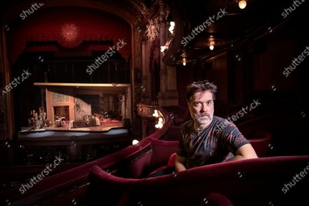 """Singer and musician Rufus Wainwright photographed before the premiere of his opera """"Prima Donna"""" at the Royal Opera in Stockholm, Sweden"""