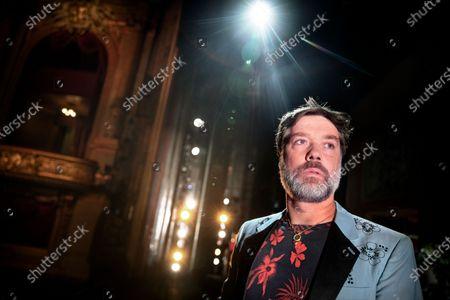 Editorial image of Rufus Wainwright photoshoot, Stockholm, Sweden - 25 Sep 2020