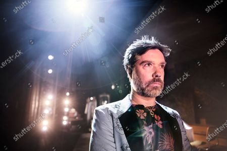"""Stock Picture of Singer and musician Rufus Wainwright photographed before the premiere of his opera """"Prima Donna"""" at the Royal Opera in Stockholm, Sweden"""