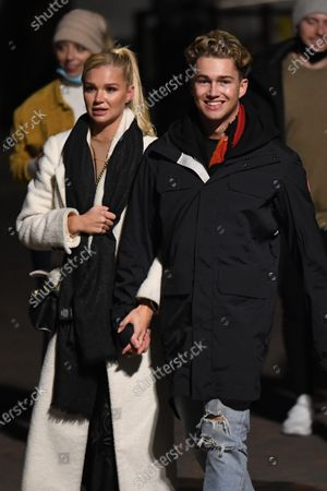 Stock Photo of Exclusive - AJ Pritchard and Abbie Quinnen