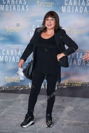 Editorial picture of 'Cartas Mojadas' film premiere, Madrid, Spain - 08 Oct 2020
