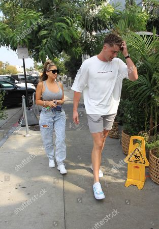 Editorial picture of Harry Jowsey and Larsa Pippen out and about, Los Angeles, USA - 08 Oct 2020