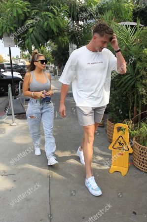 Stock Image of Harry Jowsey and Larsa Pippen