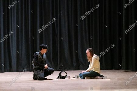 Chaz Kao as Steve and Anna Konkle as Anna Kone