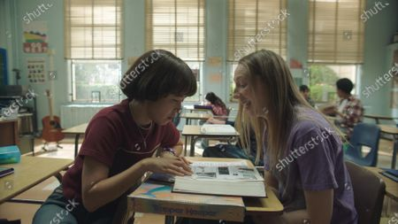 Maya Erskine as Maya Ishii-Peters and Anna Konkle as Anna Kone