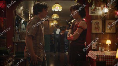 Taj Cross as Sam and Maya Erskine as Maya Ishii-Peters