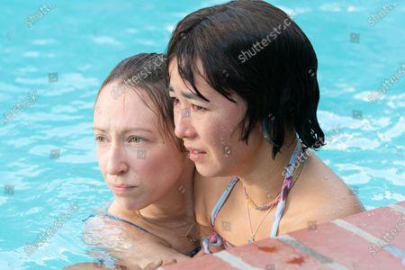 Anna Konkle as Anna Kone and Maya Erskine as Maya Ishii-Peters