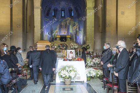 Editorial picture of Funeral ceremony of Kenzo Takada, Paris, France - 09 Oct 2020