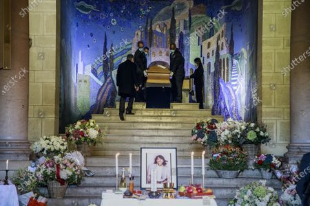 Editorial image of Funeral ceremony of Kenzo Takada, Paris, France - 09 Oct 2020