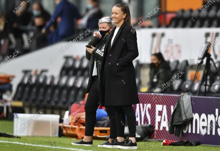 Stock Photo of Casey Stoney manager of Manchester United Women