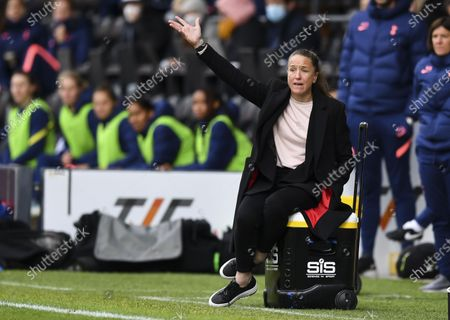 Stock Picture of Casey Stoney manager of Manchester United Women