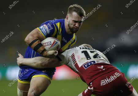 Warrington Wolves' Matt Davis in action
