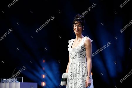 Canneseries jury member, French actress Laetitia Eido attends the opening ceremony of the Cannes Series Festival in Cannes, France, 09 October 2020. The event runs from 09 to 14 October.