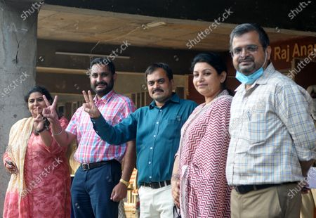 Editorial photo of Newly Elected Team Of Panjab University Teachers Association, Chandigarh, India - 09 Oct 2020