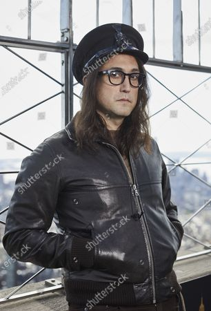 "Stock Image of Sean Ono Lennon poses for a portrait on the observation deck of the Empire State building, in New York to promote an album being released of his father's best known songs. On Friday, which would have been John Lennon's 80th birthday, ""GIMME SOME TRUTH. THE ULTIMATE MIXES"" will be released. It includes 36 tracks hand-picked by Yoko Ono and Sean Ono Lennon, who serve as executive producer and producer on the project"