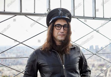 "Sean Ono Lennon poses for a portrait on the observation deck of the Empire State building, in New York to promote an album being released of his father's best known songs. On Friday, which would have been John Lennon's 80th birthday, ""GIMME SOME TRUTH. THE ULTIMATE MIXES"" will be released. It includes 36 tracks hand-picked by Yoko Ono and Sean Ono Lennon, who serve as executive producer and producer on the project"