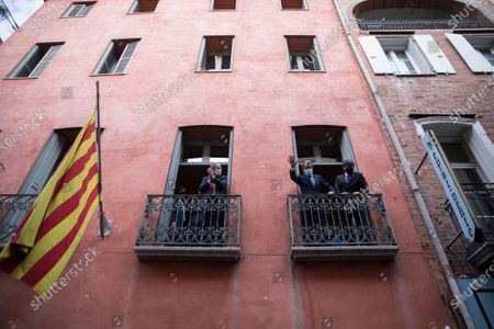 Editorial photo of Spain Catalonia, Perpignan, France - 09 Oct 2020