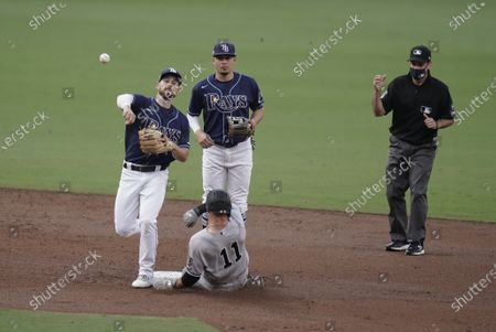 Editorial photo of ALDS Yankees Rays Baseball, San Diego, United States - 09 Oct 2020