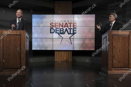 Editorial image of Election 2020 Colorado Senate, Denver, United States - 09 Oct 2020