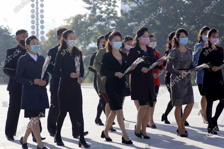 Editorial image of Party Anniversary, Pyongyang, North Korea - 10 Oct 2020