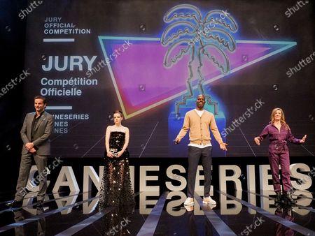 Jury members, Gregory Fitoussi, Roxane Mesquida, Jean-Pascal Zadi, Caroline Proust