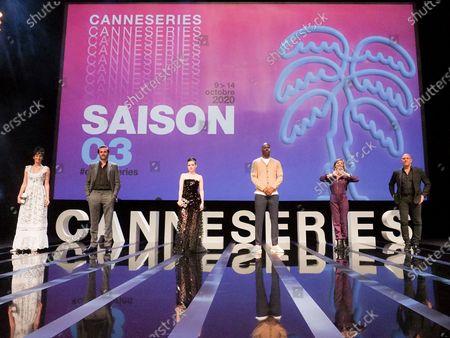 Jury members, Laetitia Eido, Gregory Fitoussi, Roxane Mesquida, Jean-Pascal Zadi, Caroline Proust and Randy Kerber