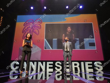 Editorial image of 3rd Canneseries, Opening Ceremony, Arrivals, Cannes, Paris, France - 09 Oct 2020