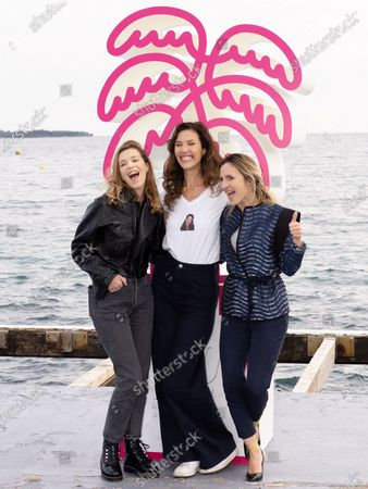 Editorial picture of 'The Flame' photocall, 3rd Canneseries, Cannes, Paris, France - 09 Oct 2020