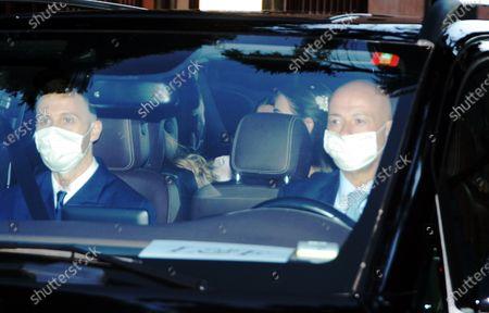 Wedding of Luigi Berlusconi