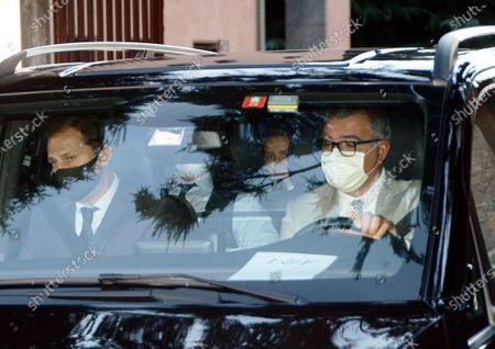 Stock Image of Wedding of Luigi Berlusconi