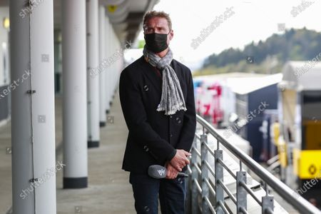 Presenter David Coulthard during the 2020 Formula One Eifel Grand Prix