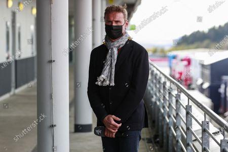 Stock Photo of Presenter David Coulthard during the 2020 Formula One Eifel Grand Prix