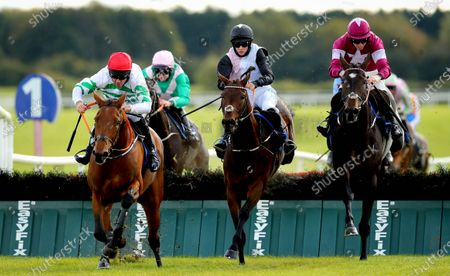 Editorial picture of Fairyhouse Racing - Return of the Jumps, Fairyhouse Racecourse, Ratoath, Co. Meath - 10 Oct 2020