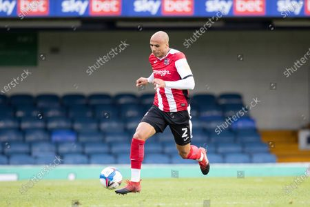 Editorial image of Southend United vs Exeter City, Sky Bet EFL League 2, Football, Roots Hall, Southend, Essex, United Kingdom - 10 Oct 2020