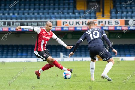Editorial picture of Southend United vs Exeter City, Sky Bet EFL League 2, Football, Roots Hall, Southend, Essex, United Kingdom - 10 Oct 2020