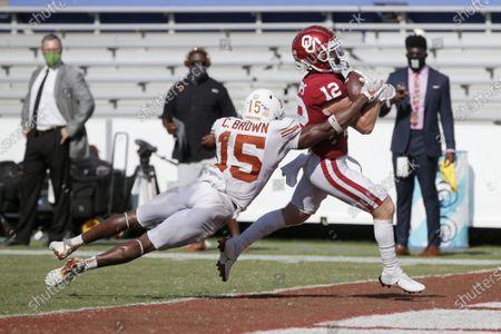 Editorial image of Texas Oklahoma Football, Dallas, United States - 10 Oct 2020