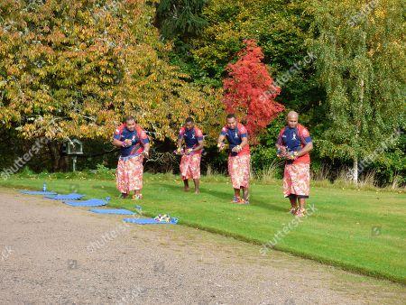 Five Fijian Soldiers (Sergeant Lawaci, Corporal Ratumaisese, Lance Corporal Vunibobo, Lance Corporal Gasaucalayawa and Private Vakadewabuka) of The Black Watch, 3rd Battalion