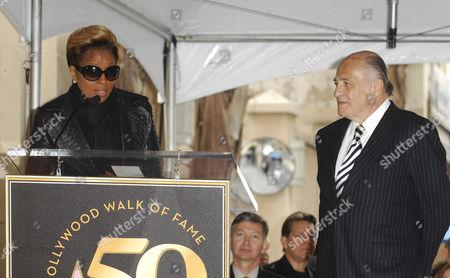 Mary J. Blige and Doug Morris